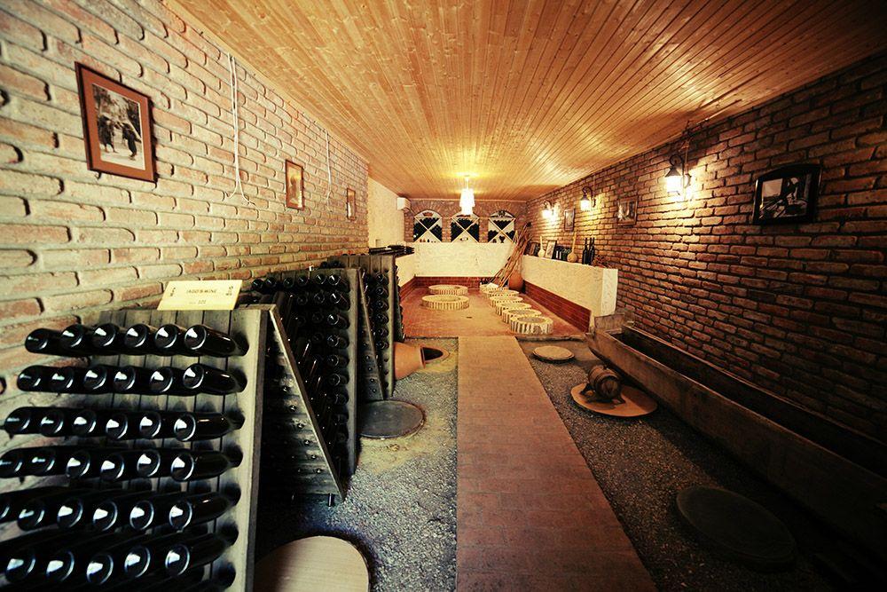 The cellar at Iago winery in Georgia